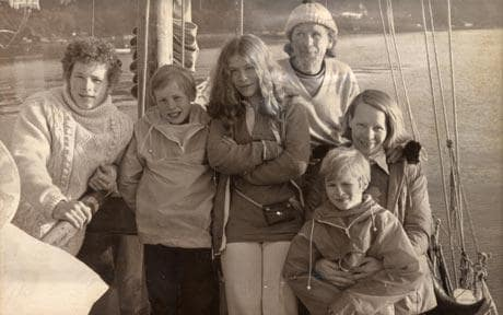 The Robertson Family Before Their Shipwreck