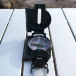 Wilderdad Brunton metal lensatic compass
