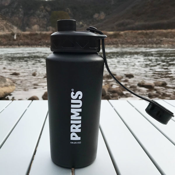 Wilderdad Primus 0.6L Steel Water Bottle Black 1