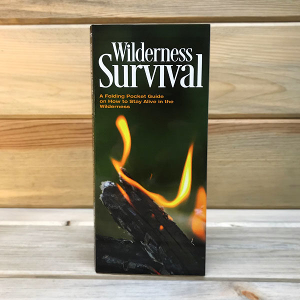Wilderdad Wilderness Survival Pocket Guide front