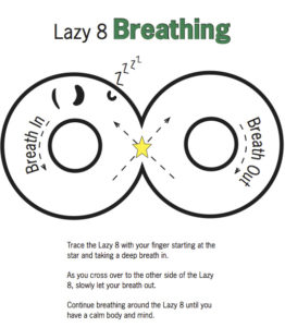 Mindfulness For Kids Figure-Eight Breathing