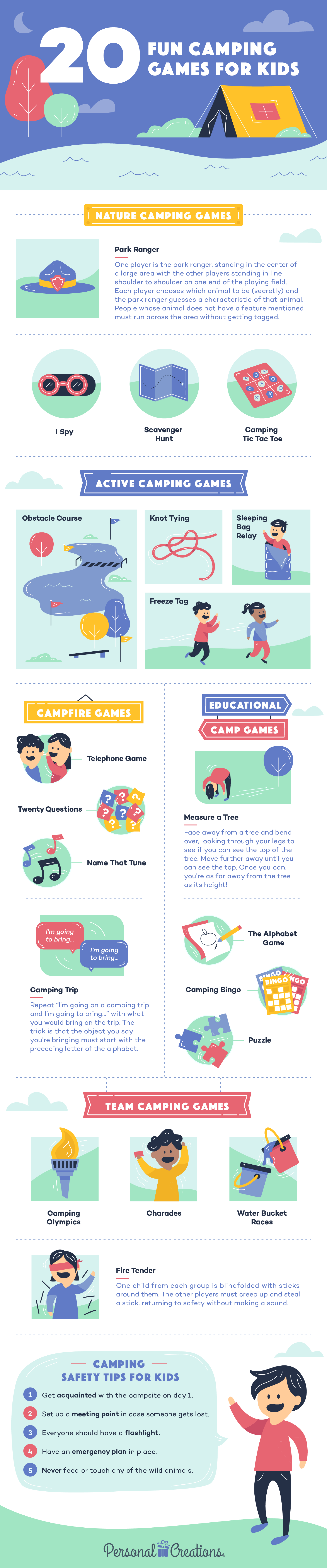 20 Best Camping Games For Kids