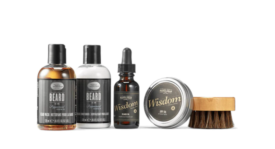 If your dad has a beard, this is the gift for him.