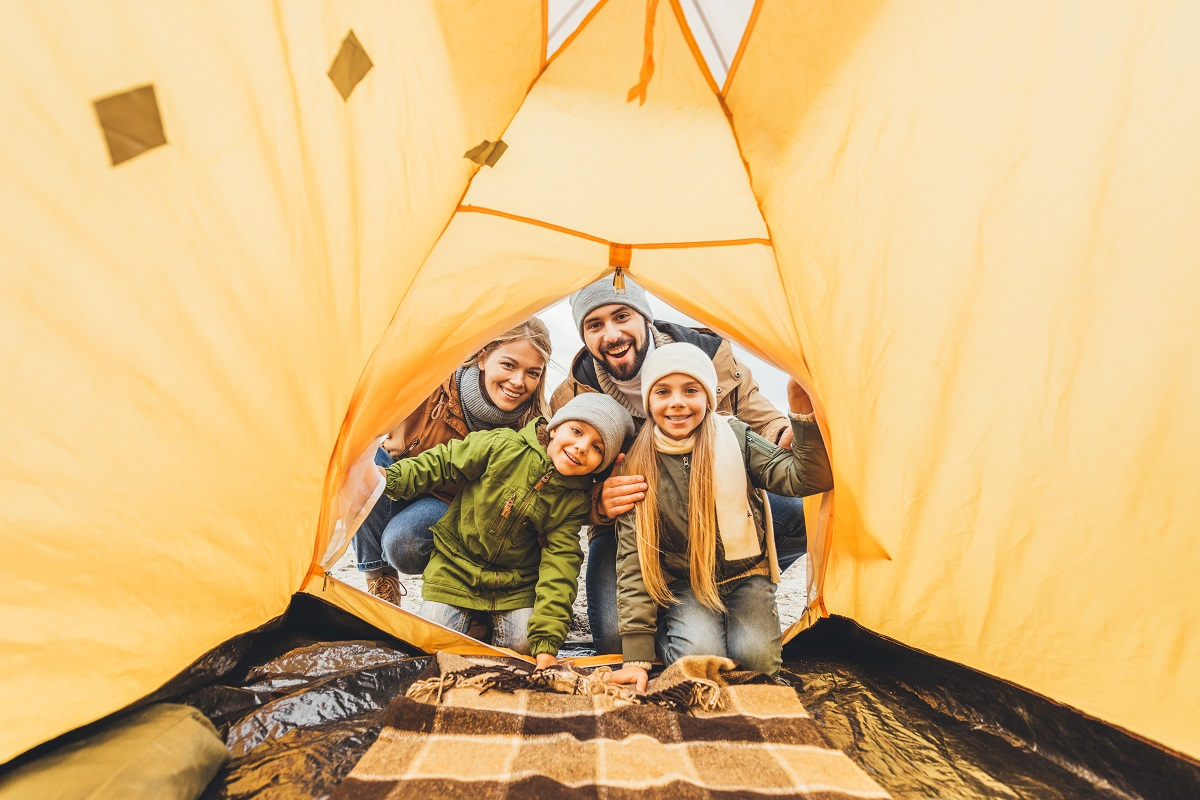 Overland Camping Family